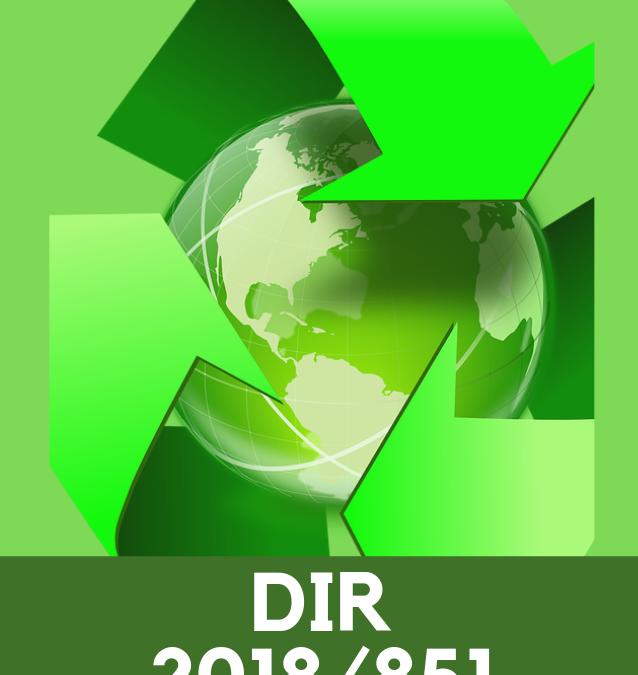La direttiva 2018/851: generare un'economia circolare partendo da una corretta gestione dei rifiuti.