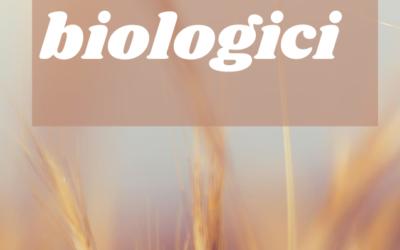 I prodotti bio e l'agricoltura biologica