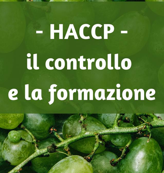 HACCP: il controllo igienico e la formazione