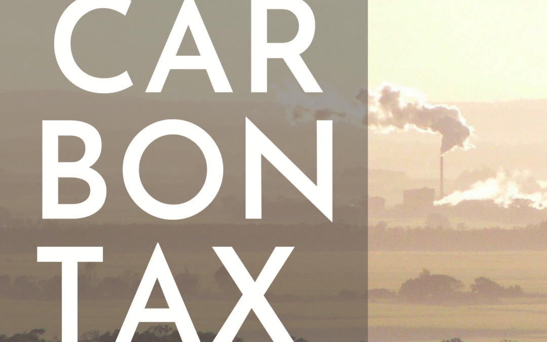 La Carbon Tax, tassare l'inquinamento prodotto